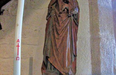 Vierge allaitant et Vierge à l'Enfant, chapelle de Beuzec