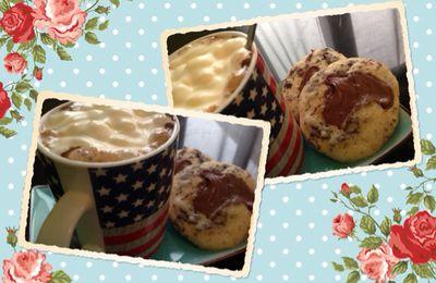 Cookies chocolat et nutella