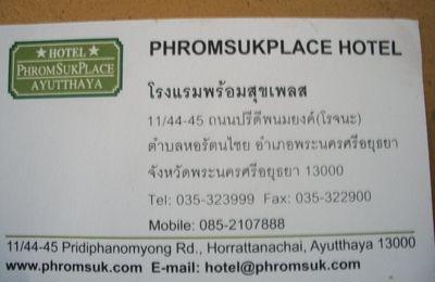 Thaïlande : Mes hôtels pendant notre périple