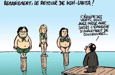 Quelle est la différence entre le quinquennat de Hollande et le Titanic ?