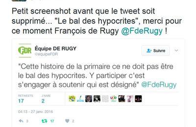 L'écologiste François de Rugy rejoint Macron