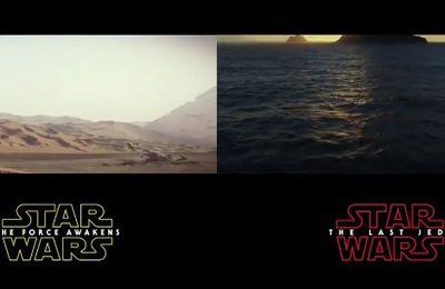 Star Wars, trailer contre trailer