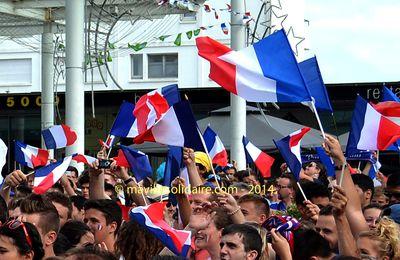 La Roche-sur-Yon. La finale de la coupe du monde retransmise sur écran géant dimanche.