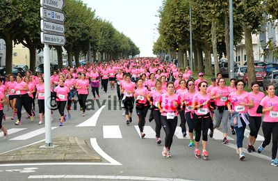 Joséphine 2016. 5000 roses marchent et courent contre le cancer [Images].