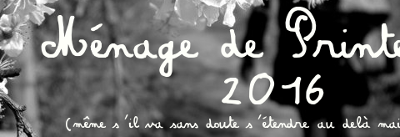 [Index] Ménage/re-mise à jour de printemps 2016