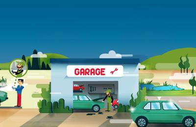 Trouvez rapidement le garage qu'il vous faut