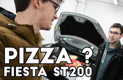 Peut-on réchauffer une pizza avec une Ford Fiesta ST200 ?