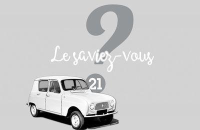 Le saviez-vous ? #21