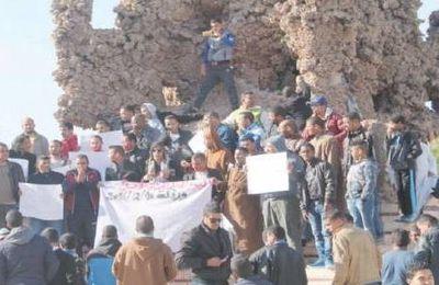 En pleine campagne électorale, la protestation redescend dans la rue à Ouargla