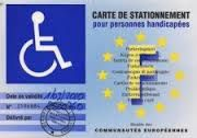 carte de stationnement pour personnes handicap es le mod le modifi par l 39 arr t du 3 mars 2015. Black Bedroom Furniture Sets. Home Design Ideas