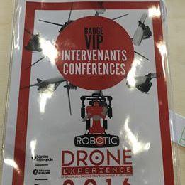 Me Thierry Vallat est intervenu lors du Drone Experience 2016 de Nantes pour parler des problématiques réglementaires des drones