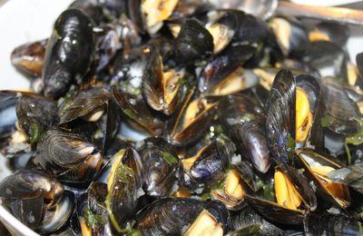 Moules marinières sans gluten