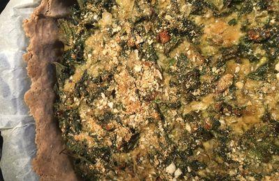 Tarte aux orties sans gluten