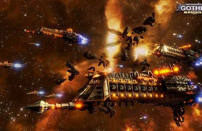 Jeux video: Gameplay Battlefleet Gothic : Armada ! #Focus