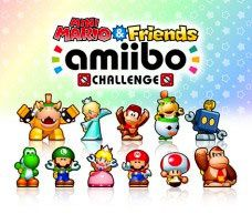 Jeux video : Mini Mario and Friends Amiibo Challenge sur 3DS #WIIU !