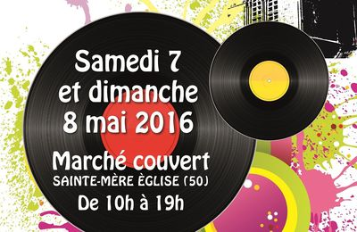 #Evenement : 07/08 mai -  Foire aux disques internationale #saintemereeglise‏ !