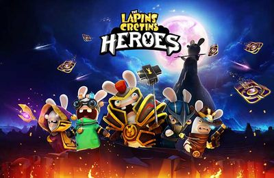 Jeux video: The Lapins Crétins Heroes le jeu de cartes pour mobiles !