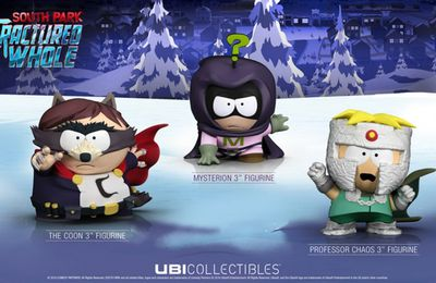 #GEEK : Les figurines South Park sont là ! #UPLAY #UBI