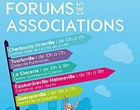 #Cherbourgencotentin : Une même date pour 5 forums des associations !