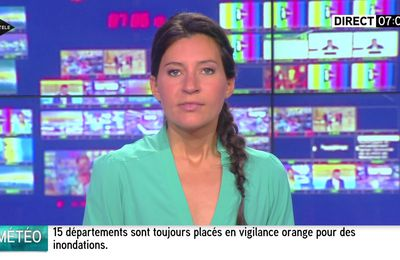 ALICE ROUGERIE pour INTEGRALE WEEK-END le 2016 06 05 sur i>tele