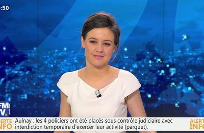 📸30 CELINE PITELET @cpitelet @JohannaCarlosD8 ce soir @bfmtv #vuesalatele