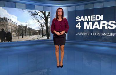 📸3 📺1 LAURENCE ROUSTANDJEE @LoRoustandjee ce soir pour LA METEO @M6 #vuesalatele