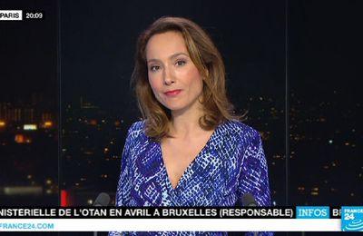 📸5 STEPHANIE ANTOINE @StphAntoine pour PARIS DIRECT ce soir @France24_fr @FRANCE24 #vuesalatele