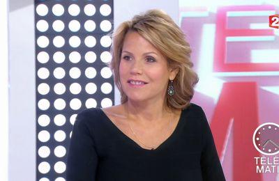 📸7 LAURA TENOUDJI @lauratenoudji ce matin @telematin @France2tv #vuesalatele