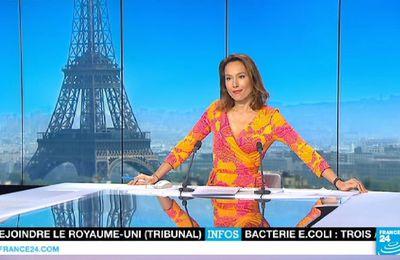 📸10 STEPHANIE ANTOINE @StphAntoine pour PARIS DIRECT ce soir @France24_fr @FRANCE24 #vuesalatele