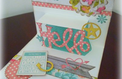 "Carte ""Hello Joy"""