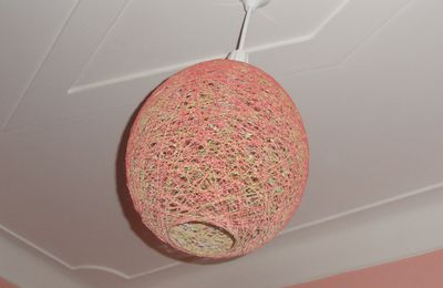 DIY, suspension en boule