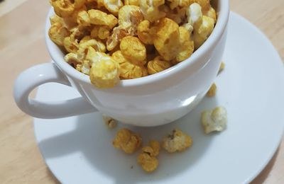 Pop corn aux épices