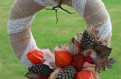 Une couronne d'automne