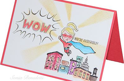 You're incredible by Stampin'Up!
