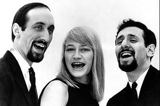 peter paul and mary, un groupe américain de musique folk composé de peter yarrow, noel stookey et mary travers