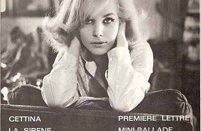 cettina, une chanteuse italienne mythique des années 1960 qui avait bien du mal à chanter en français