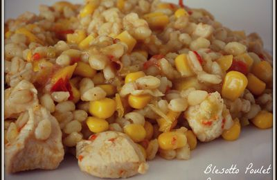 Blesotto Poulet Poivrons Maïs