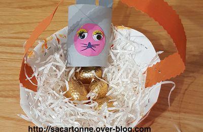 Créations des enfants pour Pâques