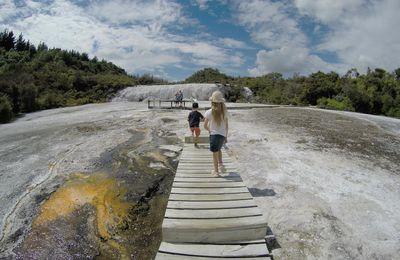 Jour 21 - Vallée géothermale d'Orakei Korako et Huka Falls