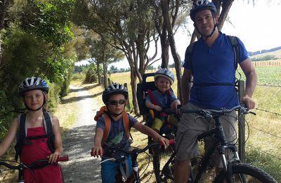 Jour 23 - Tongariro River Trail en VTT