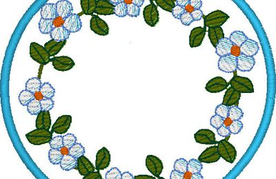 Broderies 249: amour et bouquets