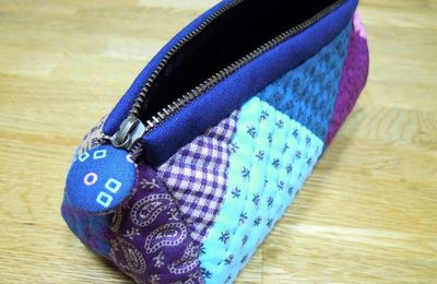 Trousse patchwork: tutoriel