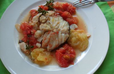 Cabillaud à la tomate