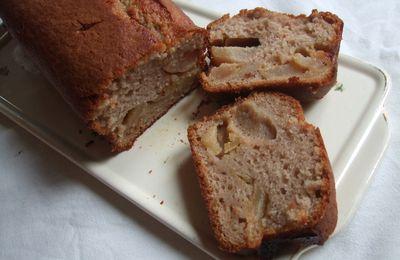 Cake à la crème de marrons et aux pommes