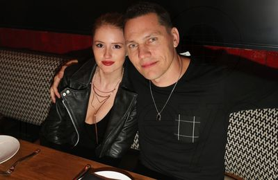 Photo Tiësto and Annika Backes at Komodo, Miami - january 29, 2016