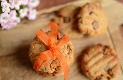 Cookies aux chuncks chocolat au lait #sans beurre #sans oeuf