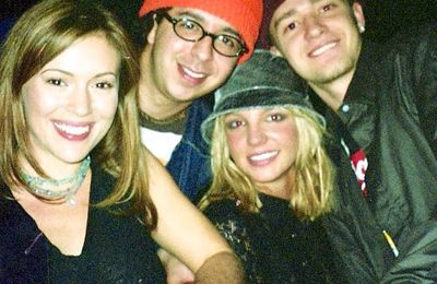 Photo: Alyssa Milano, Justin Timberlake et Britney Spears
