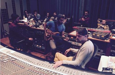 Photo: Justin Timberlake en studio pour la bande originale d'un film