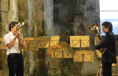 ÉGLISE ROMANE SAINT JEAN D'ORBESTIER : encore un beau concert