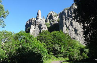 Balade au Guéry par Ceyssat et Rochefort montagne